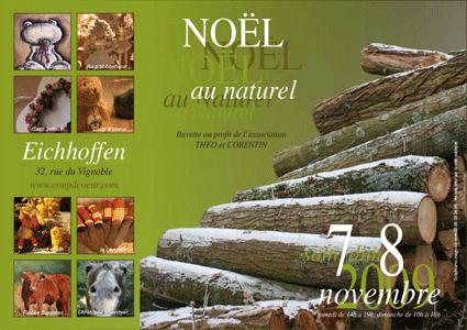 Noël  au naturel à Eichhoffen