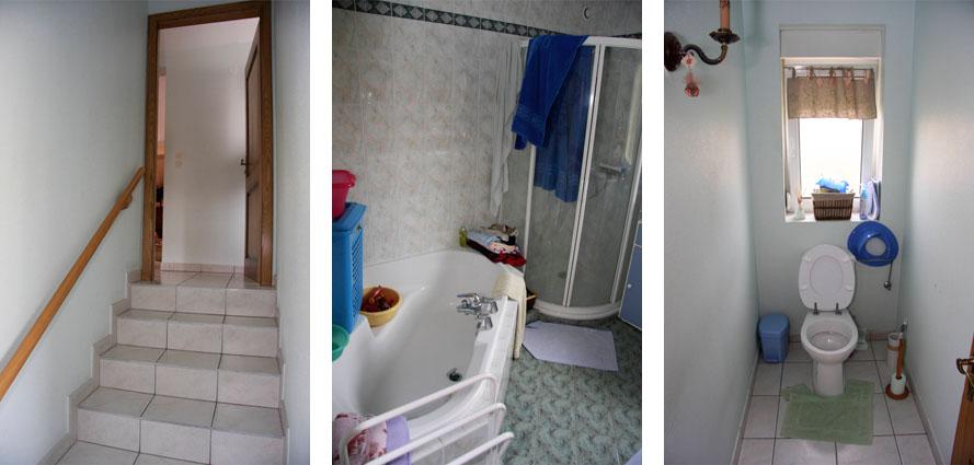une maison pas adaptée aux handicapés