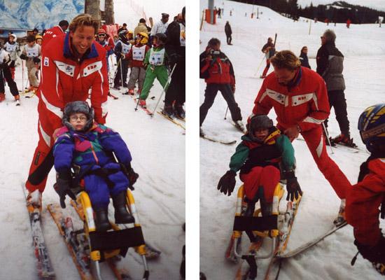 ski Théo et Corentin